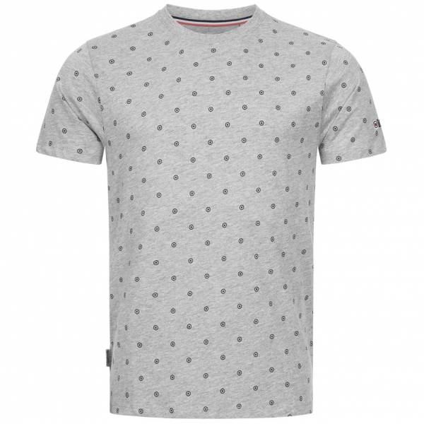 Lambretta Allover Print Herren T-Shirt EM2603-GREY MARL