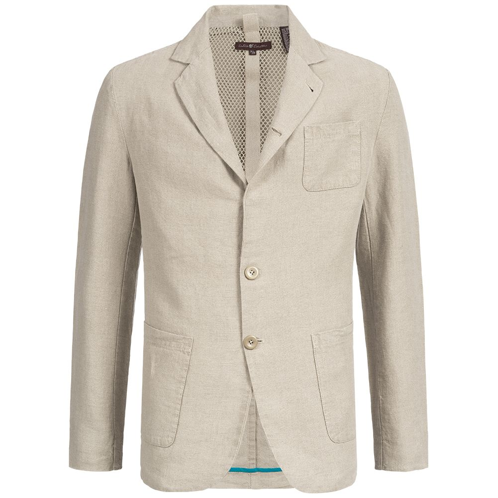 buy popular 865e0 8f83a Blazer di lino con giacca sportiva da uomo Timberland 26282-180