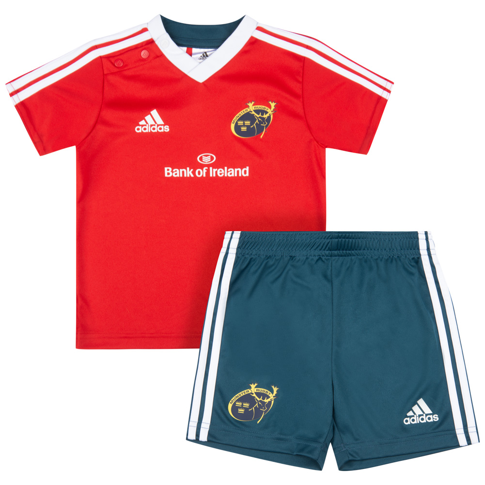 Musgo Banco de iglesia Implementar  adidas Babies' Set Kit Munster Rugby Jersey Set G70180 | SportSpar.com