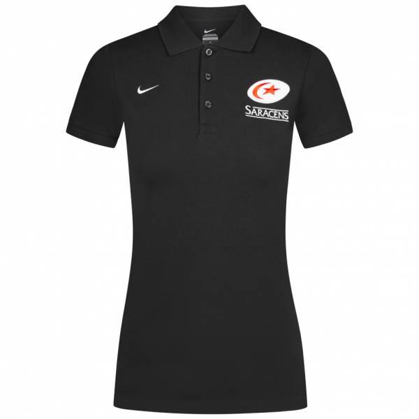 Saracens Rugby Nike Damen Polo-Shirt 457097-010