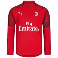 AC Mailand PUMA Kinder 1/4 Zip Trainings Sweatshirt 756145-01