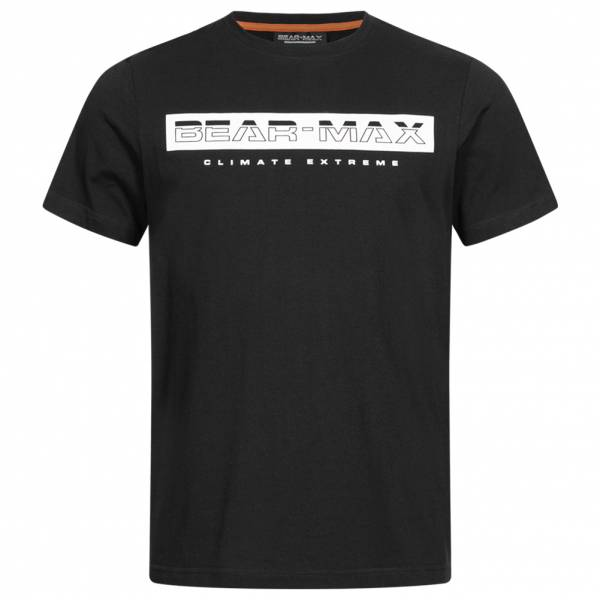 BEAR MAX Glacier Herren T-Shirt BTG00010-BLK