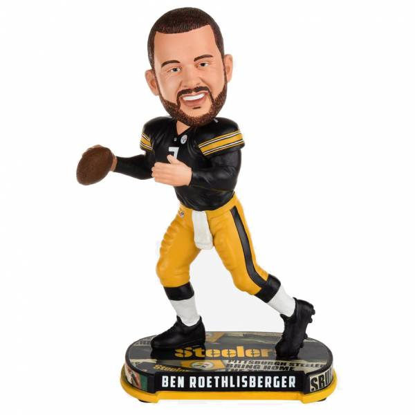 Steelers de Pittsburgh #7 Ben Roethlisberger 20cm Figurine bobblehead BHNFHLPSBR