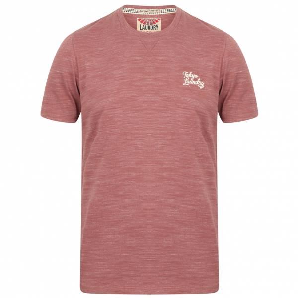 Tokyo Laundry Sun Lake Crew Neck Herren T-Shirt 1C11006 Warm Rose