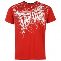 Tapout MMA Herren Logo Shirt rot