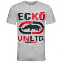 Ecko Unltd. Brands Hatch Herren T-Shirt ESK04300 Black Grey Marl