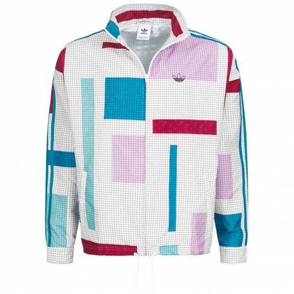 adidas Originals Grid Block W.N.D. Windbreaker Men Jacket ED5511