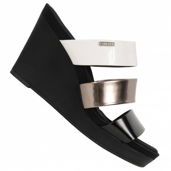 Calvin Klein Jileean Femmes sandales compensées E6548BWW