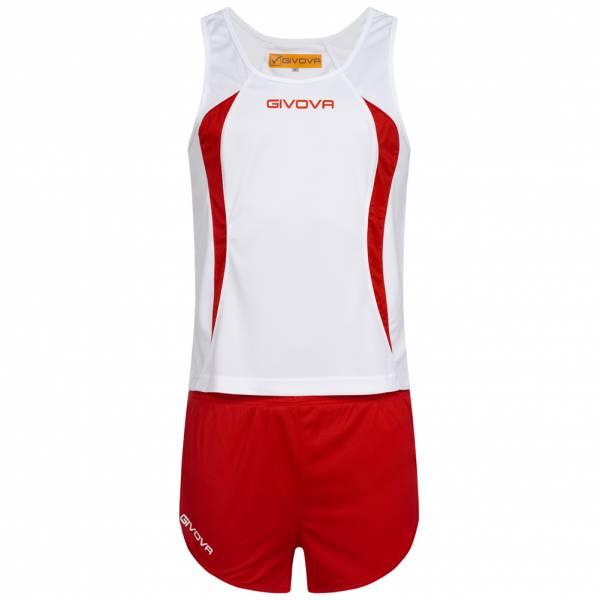 Givova Kit Boston Zestaw lekkoatletyczny Koszulka bez rękawów ze spodenkami KITA02-0312