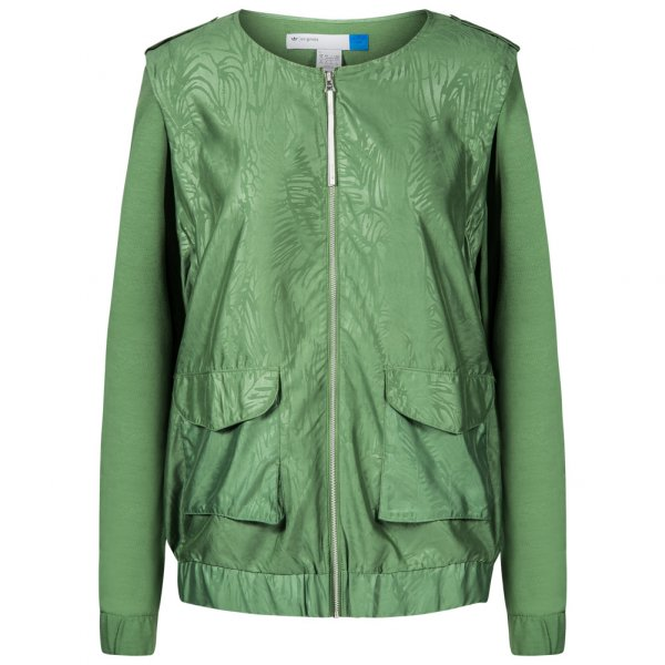 adidas Originals Clover Woven Jacket Damen 2 in 1 Jacke F50333
