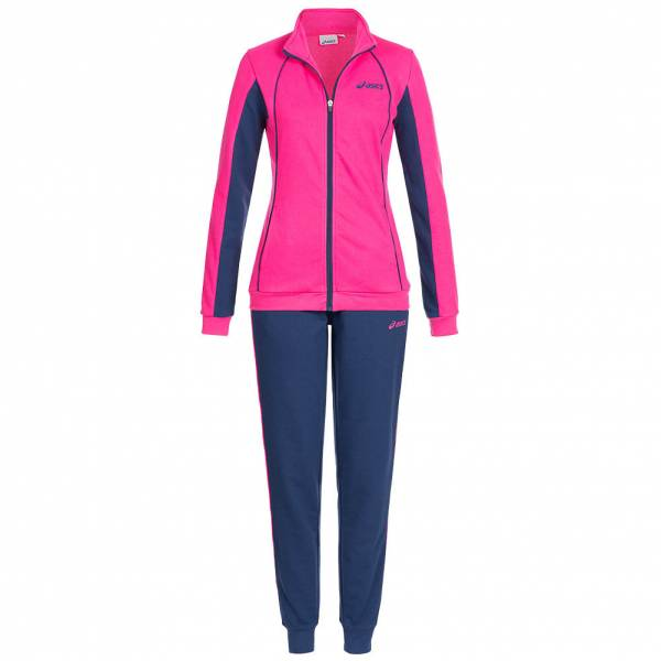 ASICS Solid Damen Trainingsanzug Woven Track Suit 127709-8052