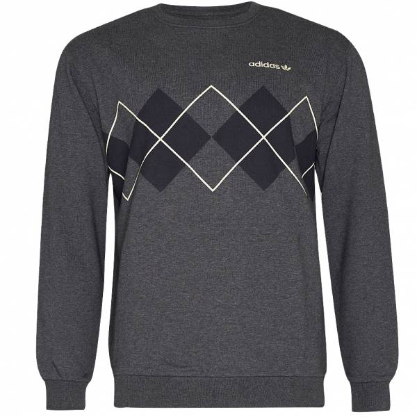 adidas Originals Argyle Crewneck Herren Sweatshirt FM3418