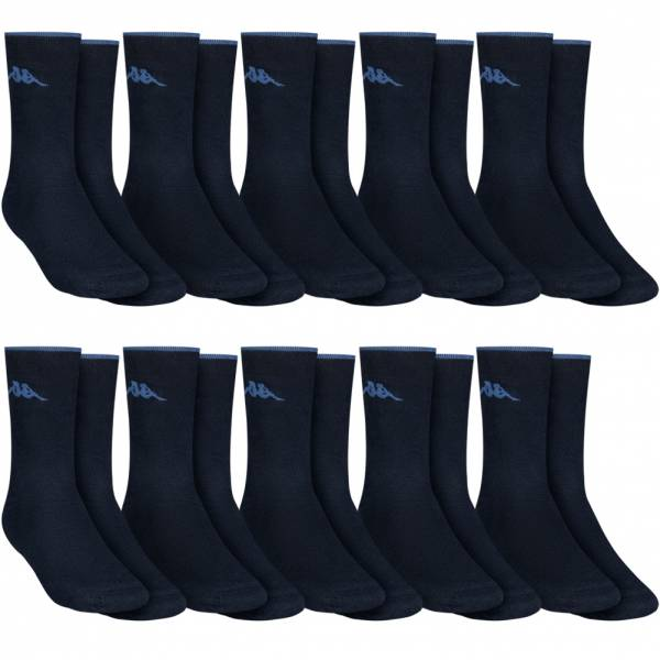 "Kappa ""Thomas"" Men Pack of 10 Sports Socks 705047-821"