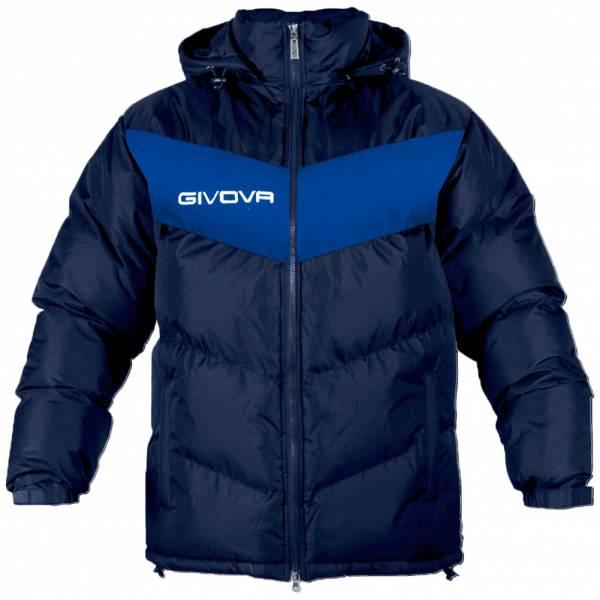 Givova Winterjas Giubbotto Podio marine / blauw