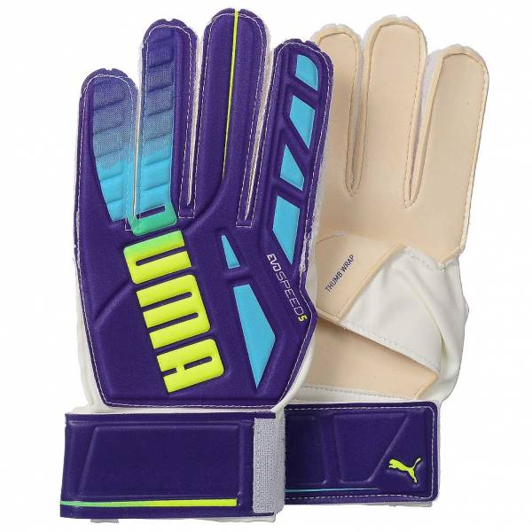 PUMA evoSPEED 5 3 Goalkeeper Gloves 041017-01 ... b915bb51e8f1