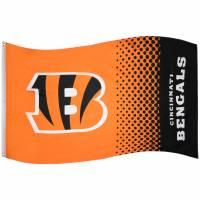 Cincinnati Bengals NFL Fahne Fade Flag FLG53NFLFADECIB