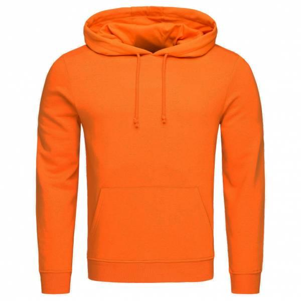 BRAVE SOUL Clarence Pullover Brushed Fleece Hoody MSS-131CLARENCEG Orange