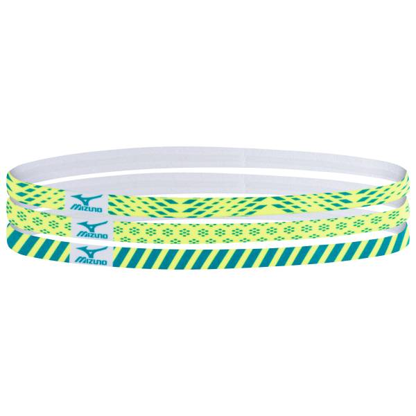Mizuno 3er-Pack Trainings Haarband 32GW6A50-45