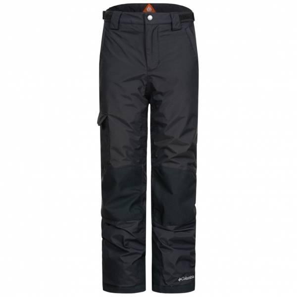 Columbia Bugaboo Niño Pantalones de esquí 1147948-NEGRO