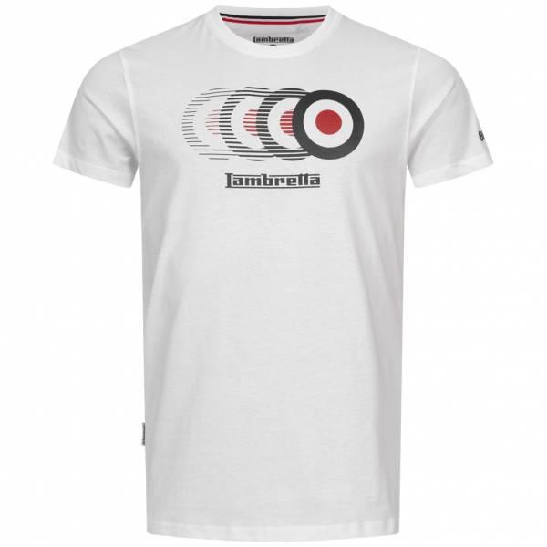 Lambretta Target Fade Herren T-Shirt SS7789-WHT