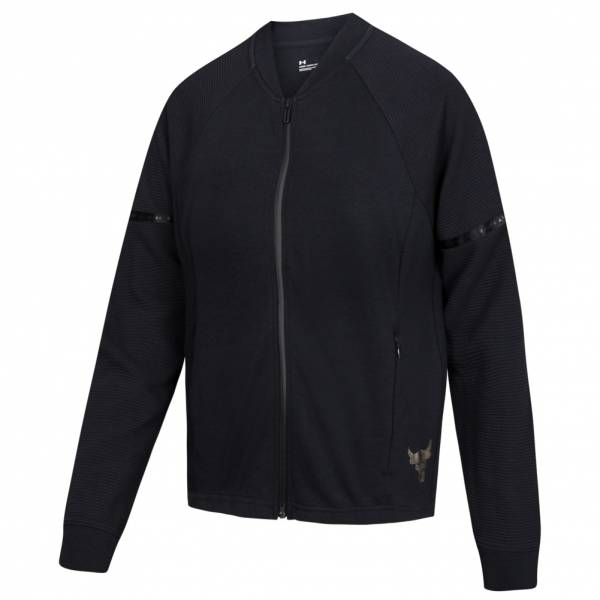 Under Armour x Project Rock Double chaqueta bomber para mujer 1345550-001