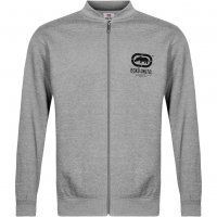 ECKO Unltd. Benntayga Herren Zipper Full Zip Sweat Jacke ESK4171 Grey Marl