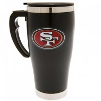 San Francisco 49ers NFL Foil Print Travel Mug Thermobecher MGNFLTRAVSF