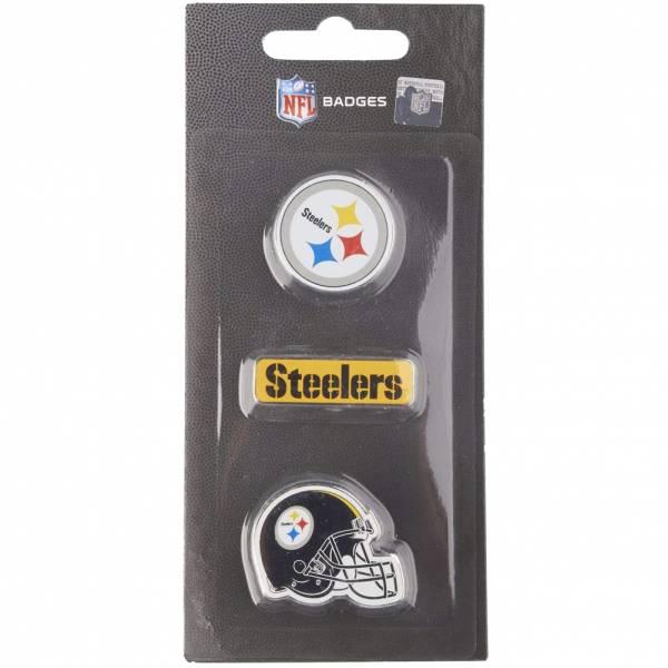 Pittsburgh Steelers NFL Metall Pin Anstecker 3er-Set BDNFL3PKPS
