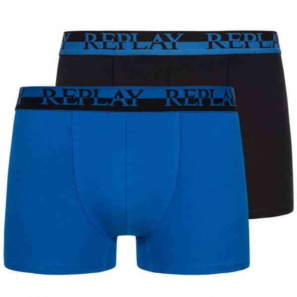 REPLAY Boxer Hombre Calzoncillos bóxer Pack de 2 101141-N141