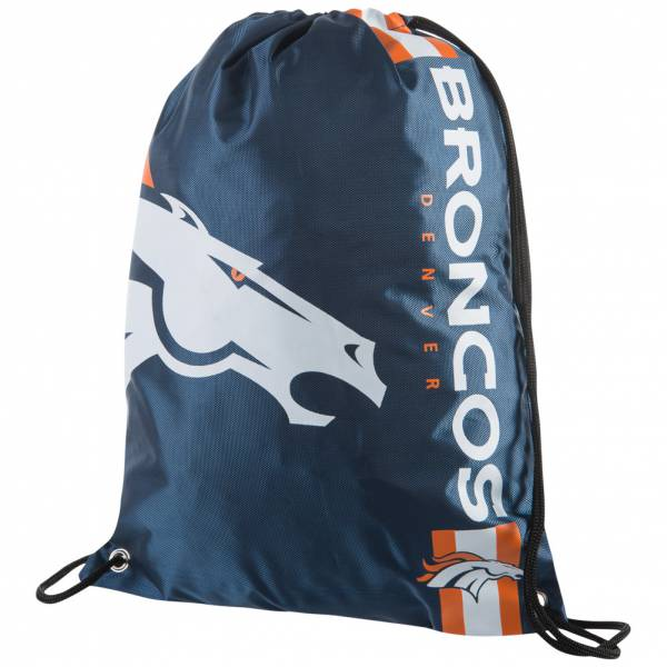 Denver Broncos NFL Drawstring Backpack Gym Bag LGNFLCLGYMDB