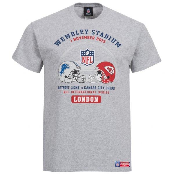 Detroit Lions vs Kansas City Chiefs Majestic Herren T-Shirt NFL
