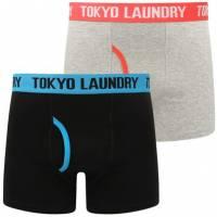 Tokyo Laundry Hydes 2er Pack Boxershorts 1P9764R