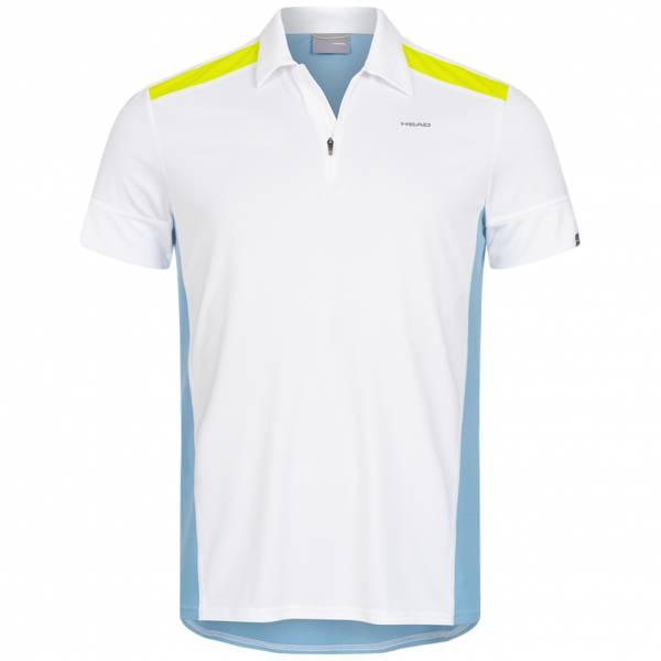 HEAD Golden Slam Herren Tennis Polo-Shirt 811139-WHSB