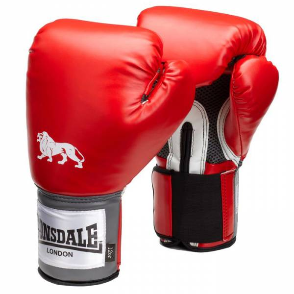 Gants de boxe Lonsdale Pro Training rouge