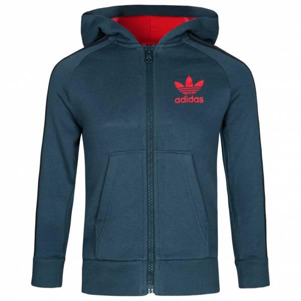 adidas Originals Fleece Sweatjacke Kapuzen Sweatshirt AB2087