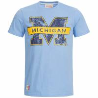 Michigan Wolverines T-Shirt American Freshman blau APE01140-BLUE