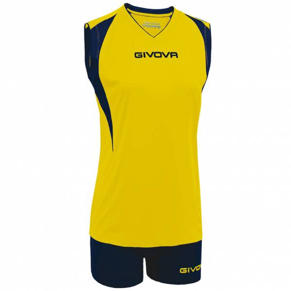 Givova Kit Spike Damen Volleyball Trikot-Set 2-teilig KITV07-0704