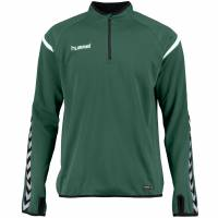 hummel Authentic Charge 1/4-Zip Kinder Trainingsoberteil 133406-6140