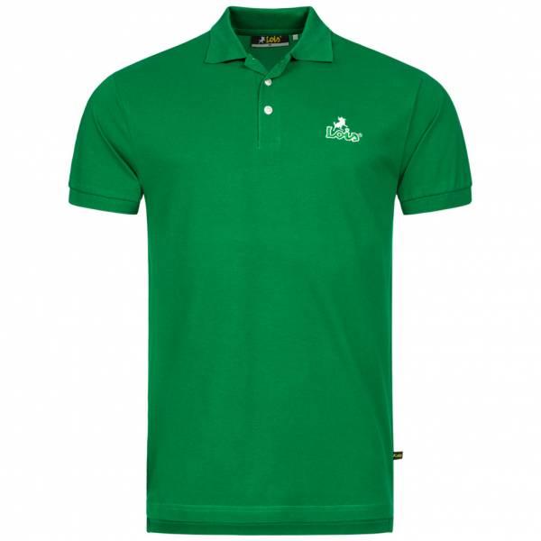 Lois Jeans Herren Polo-Shirt 4E-LPSM-Green