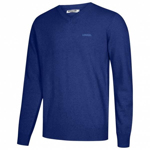 Lambretta Lambswool Sweater Herren Lammwolle Sweatshirt RWIK0045-ROYAL BLUE