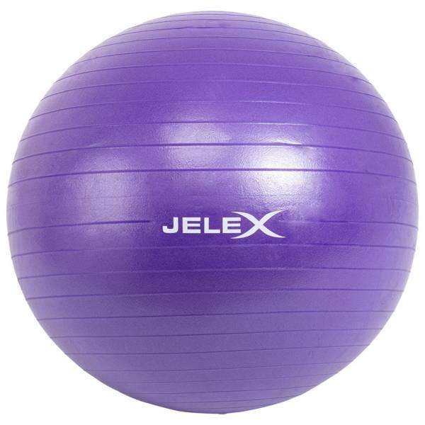 JELEX Fitness Yogaball inkl. Pumpe 65cm lila