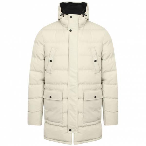 Tokyo Laundry Edmonton Heren Gewatteerde jas Wintermantel 1J11325A Ivoor