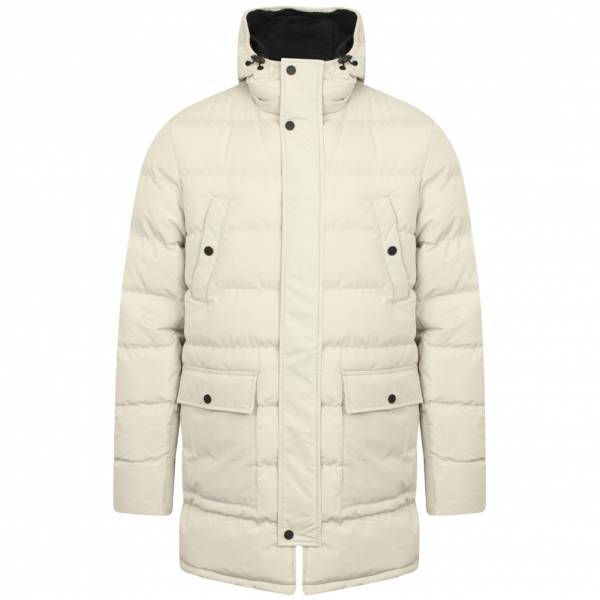 Tokyo Laundry Edmonton Herren Stepp Winter Mantel 1J11325A Ivory