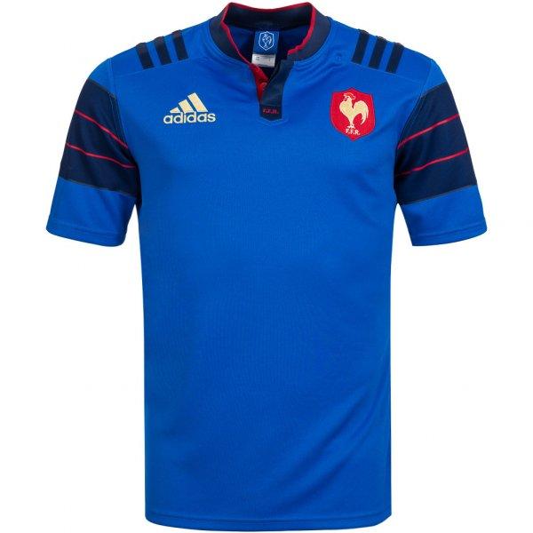 Frankreich adidas Rugby Heim Trikot FFR S88860