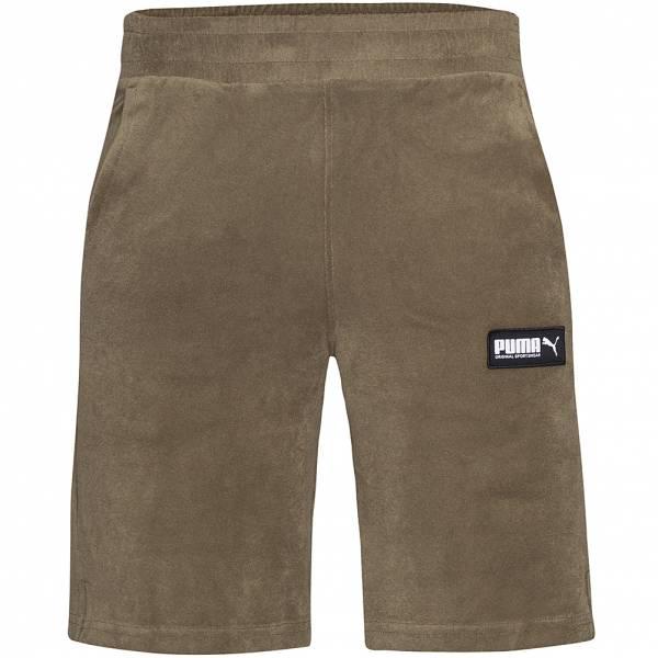 PUMA FUSION Toweling Herren Sweat Shorts 583033-49