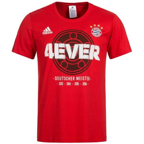 FC Bayern München adidas Herren Meister T-Shirt BQ4087