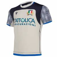 Italien FIR macron Herren Trainings Trikot 58100114