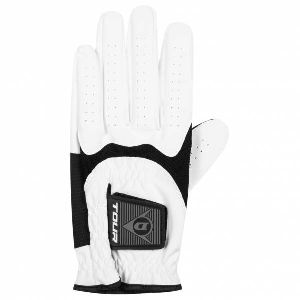 Dunlop Men Golf glove left hand for right-handers white