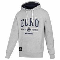 Ecko Unltd. Viper Hoody Uomo Felpa con cappuccio ESK4495 Ath Grey Marl