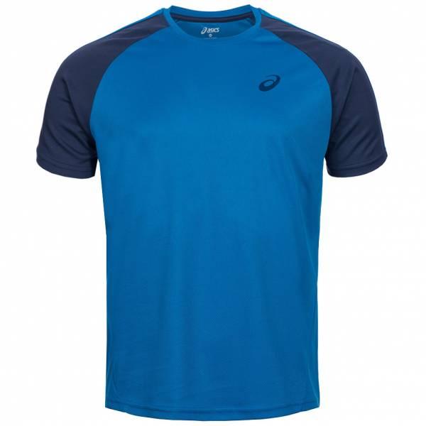 ASICS Herren Running Shirt Block Tee 130802-0808 Blau
